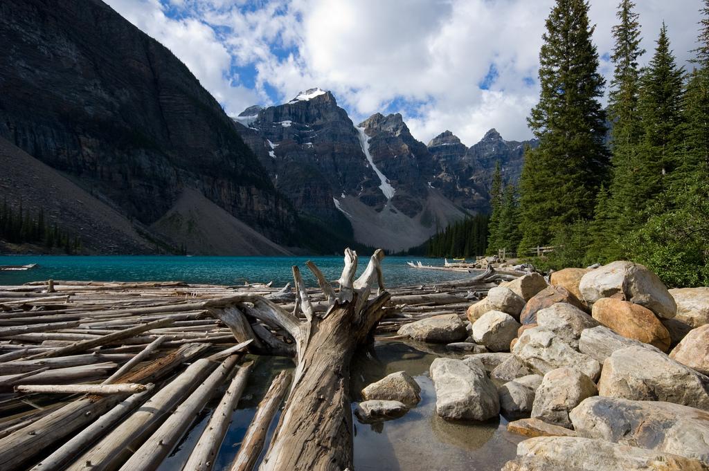 Moraine Lake в Banff National Park