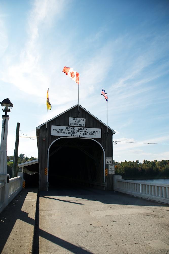 Покритият мост в Хартланд, Ню Брънзуик